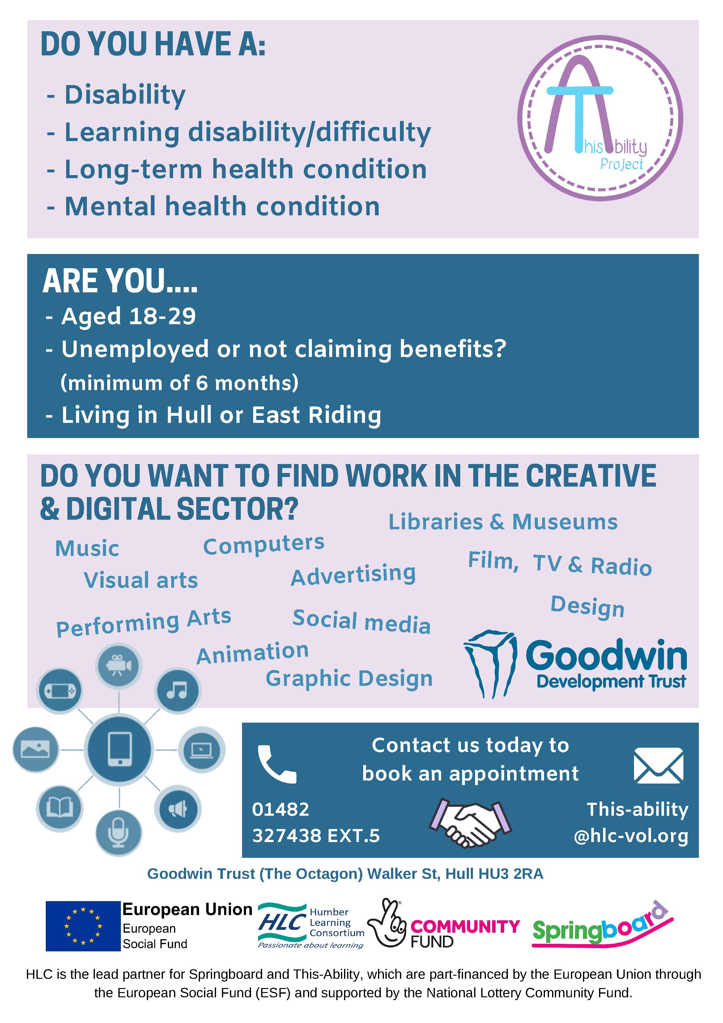 Goodwin Development Trust Poster