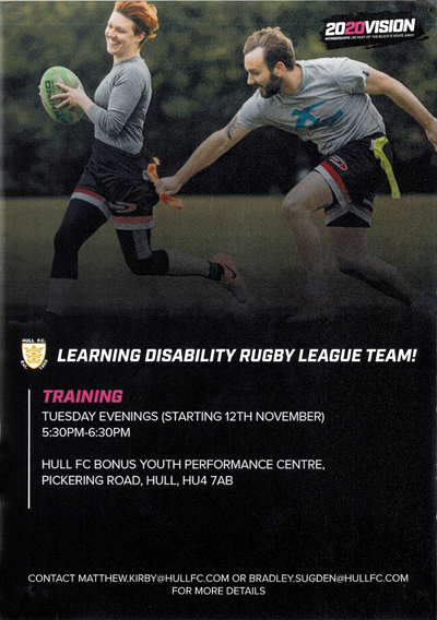Learning Disability Rugby League