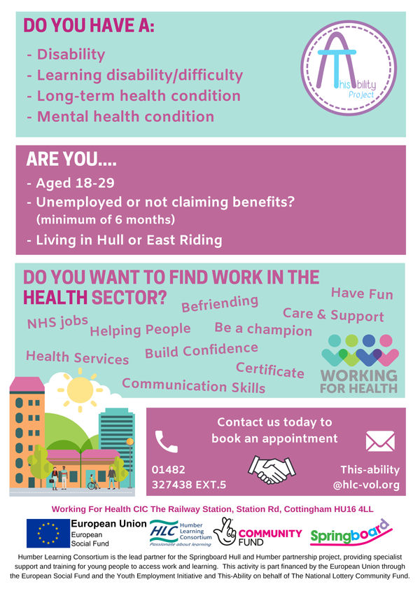 Working for Health poster